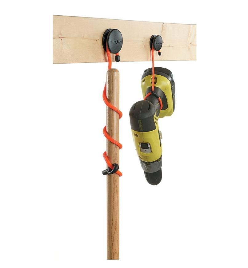 Attaches flexibles et ancrages fixes GearTie