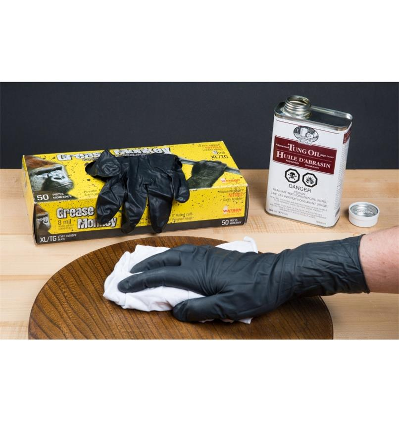 Gants de nitrile Grease Monkey