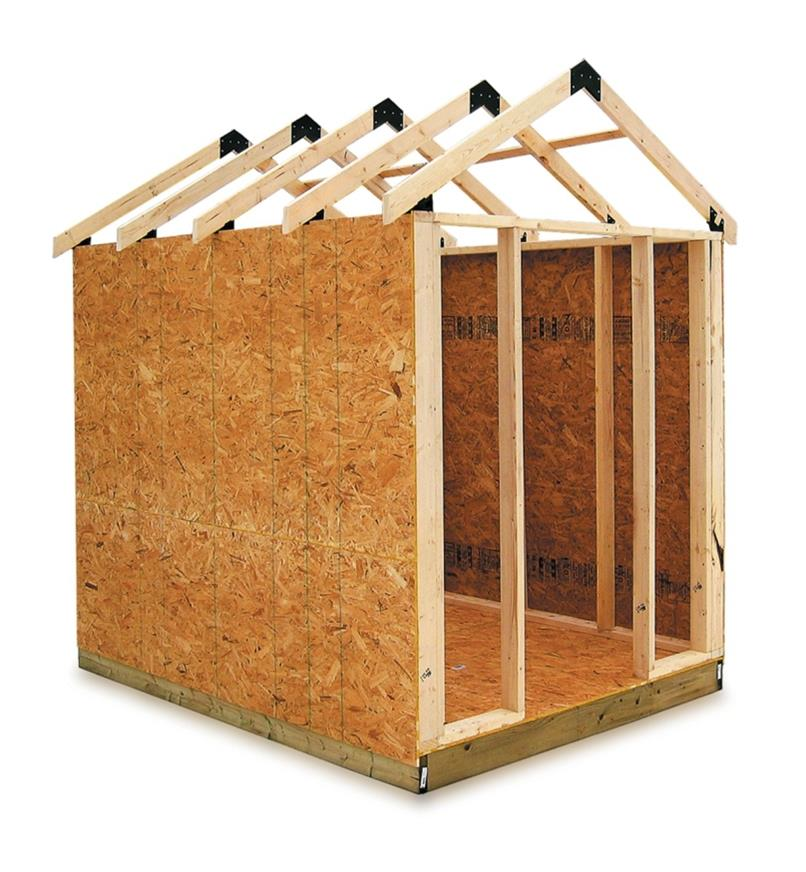 AC505 - Easy Shed Kit with Materials List