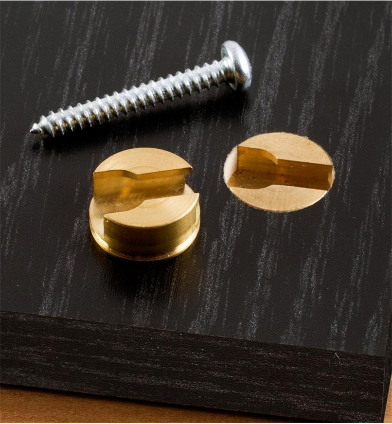 05H0301 - Keyhole Slot Plug, each