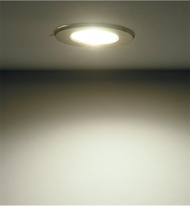 Indoor/Outdoor Warm or Natural White Mini Recessed LED Light
