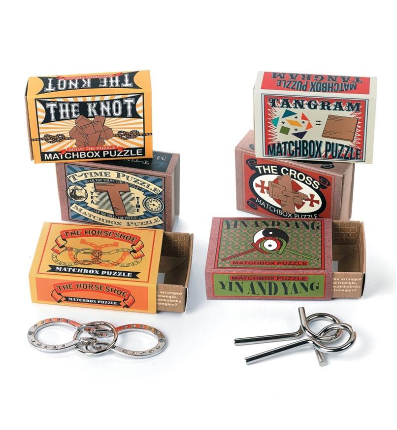 Matchbox Puzzle Sets