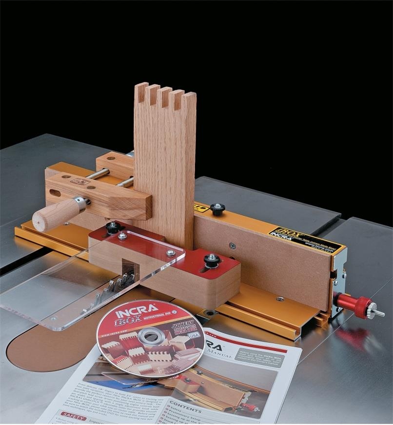 86N6020 - Incra I-Box Finger Joint Jig