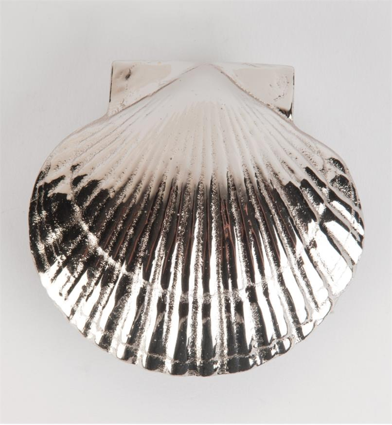00W0811 - Satin Nickel Bay Scallop Door Knocker