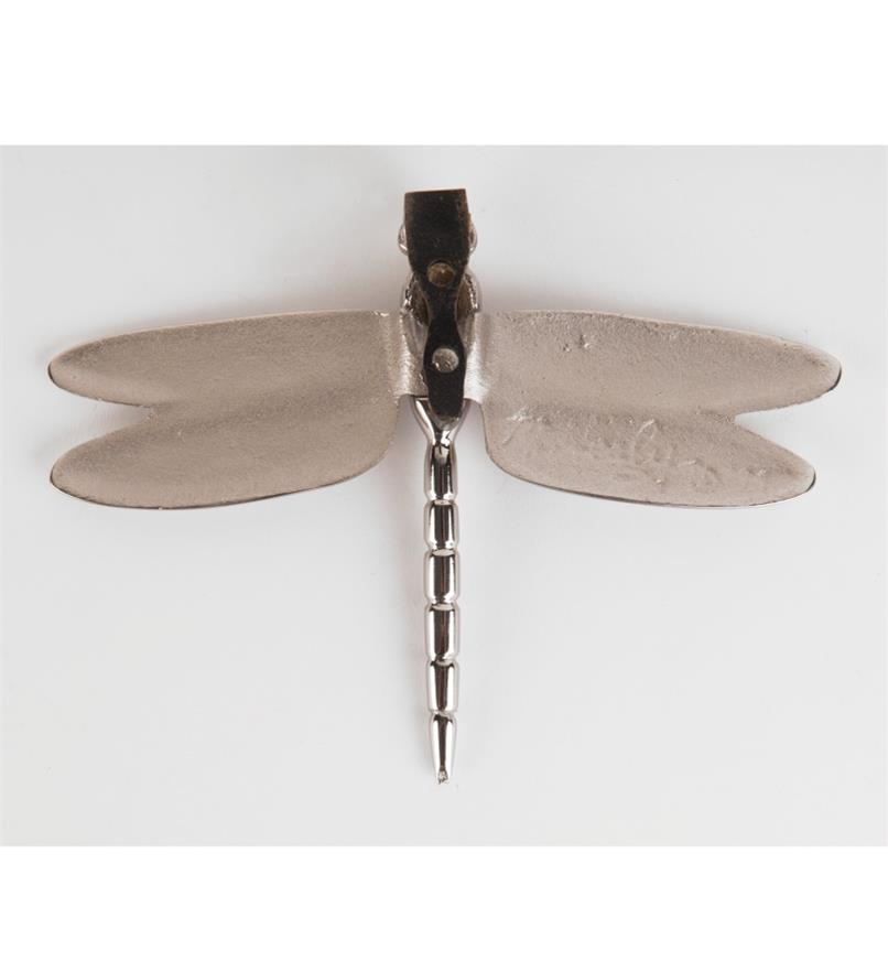 00W0813 - Satin Nickel Dragonfly Door Knocker