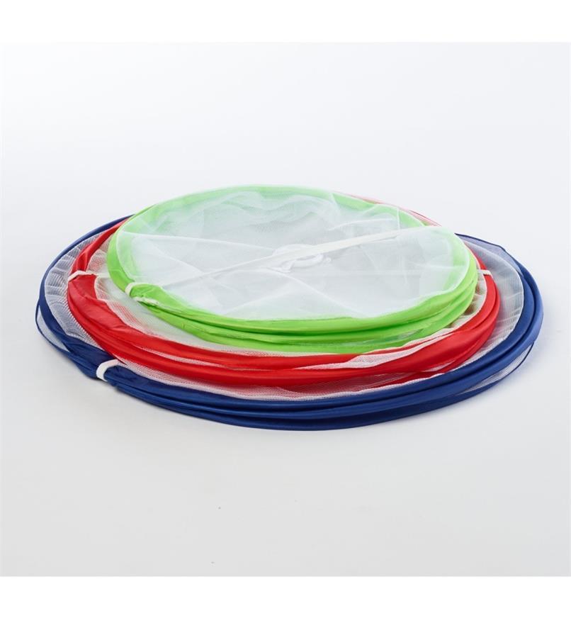 09A0438 - Jeu de cloches couvre-plats compressibles