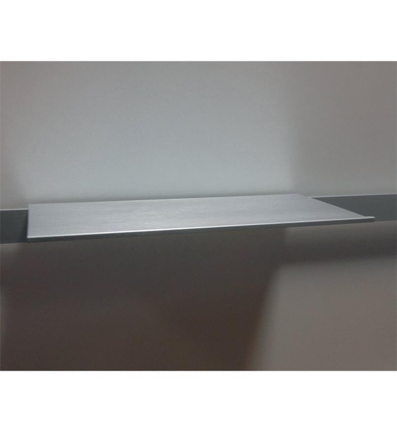 12K5115 - Tablette pour rail en aluminium, 30cm