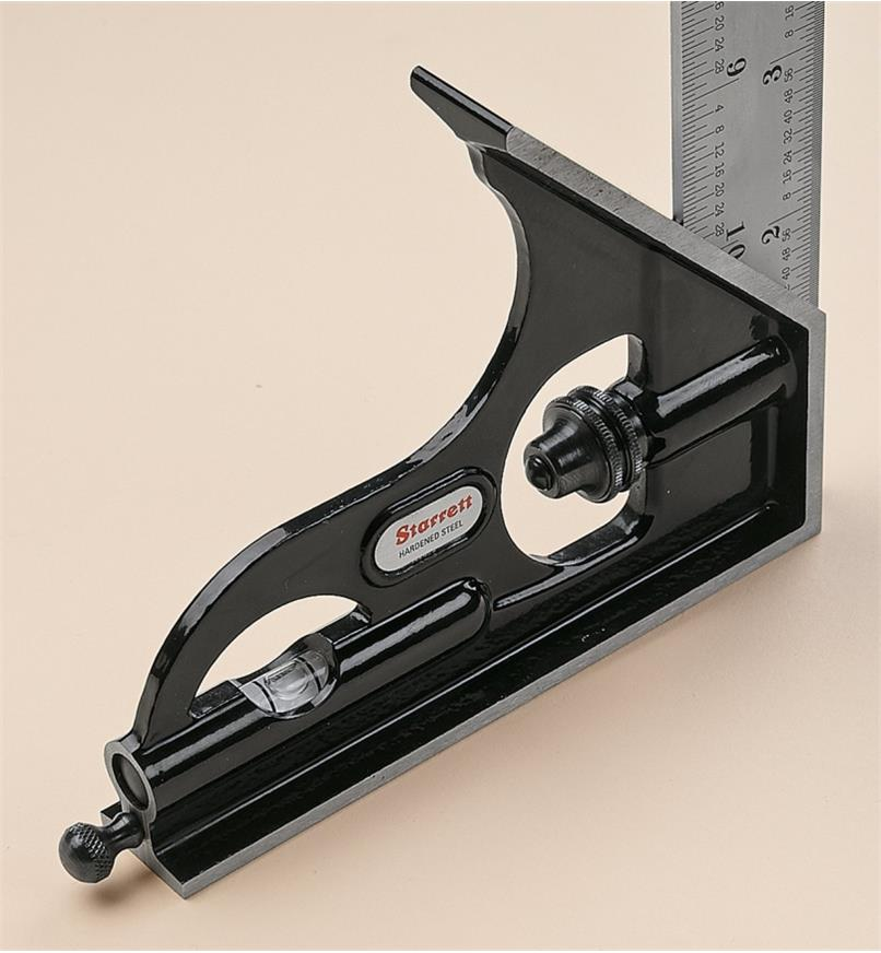 Starrett Cast-Iron Combination Squares