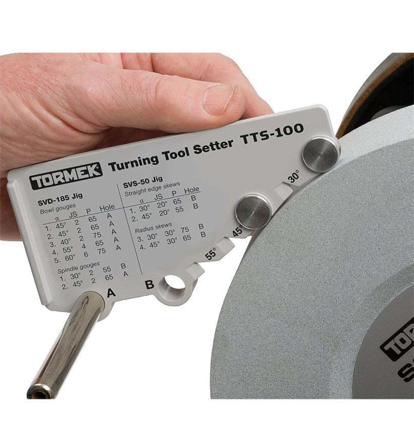 68M0142 - Gabarit de réglage Tormek pour outils de tournage