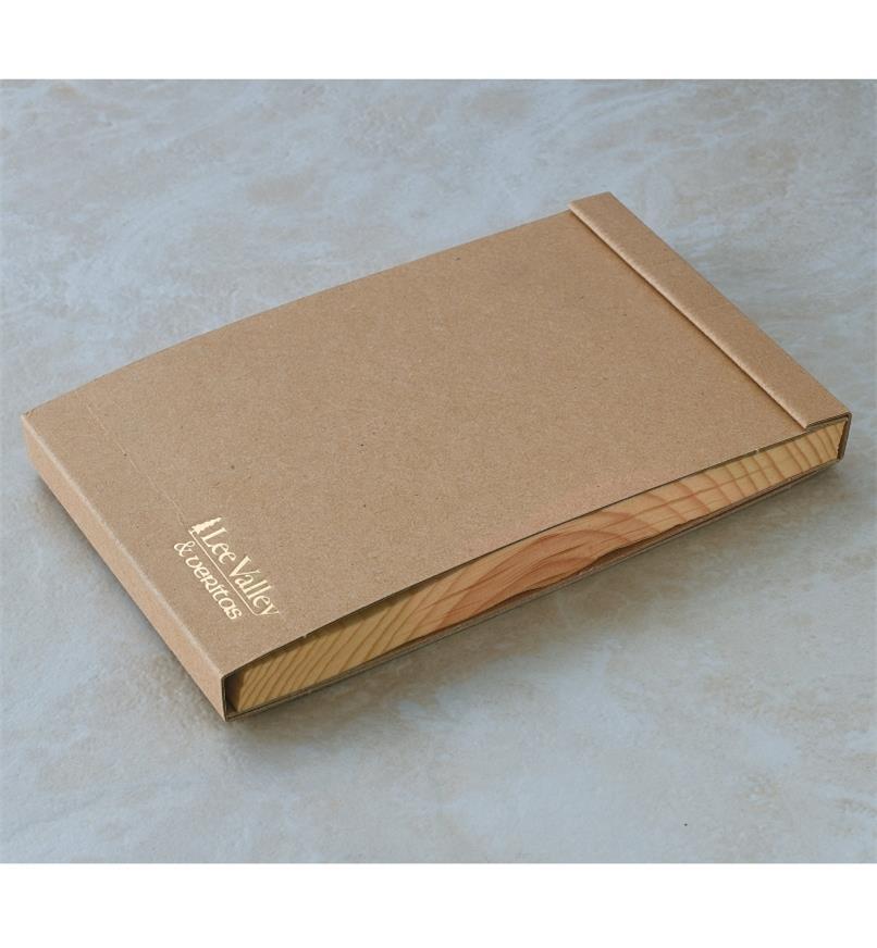 "09A0730 - 3"" x 4"" Wooden Kyougi Notepad"