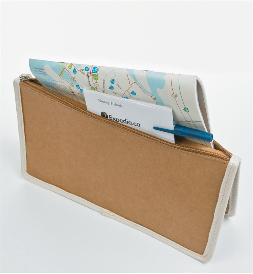 09A0934 - Tree Leather Document Wallet
