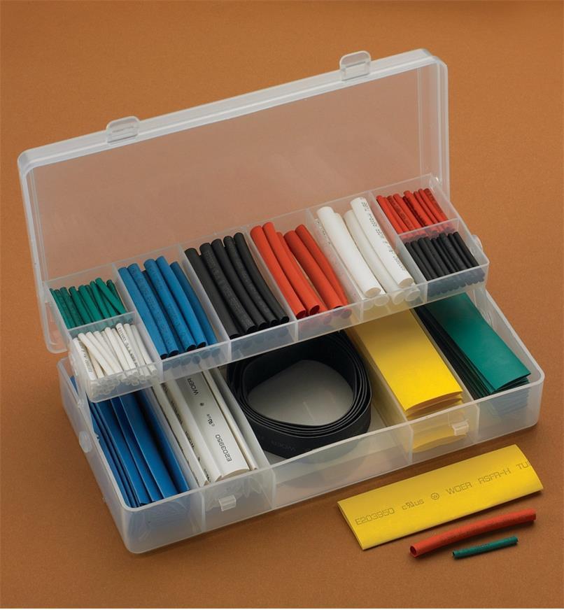 25K0150 - Shrink-Tubing Kit, 171 pcs.