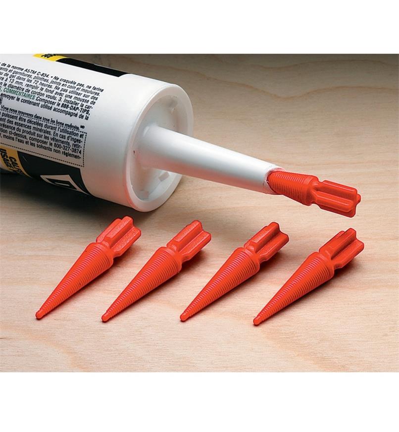 25K8095 - Bouchons Twist-n-Seal, le paquet de 5
