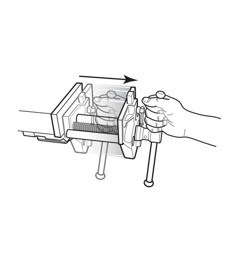 Quick-Release Steel Bench Vises