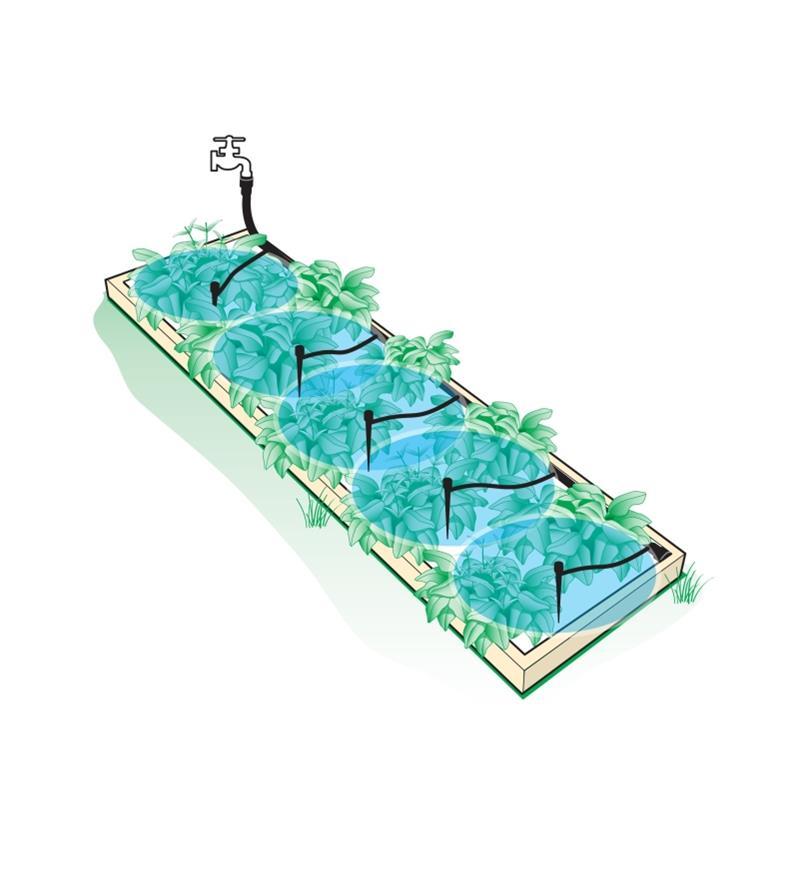 XC603 - Raised Bed Watering Kit