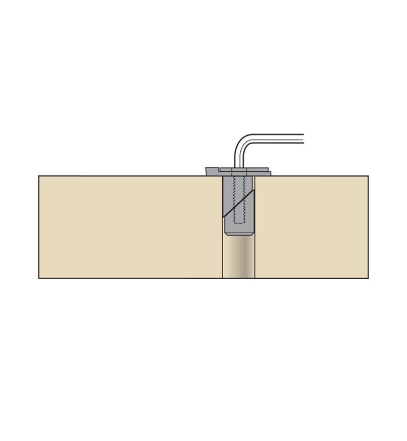 "05G2212 - Veritas Bench Blade, 3/4"" Wedge-Lock Post"