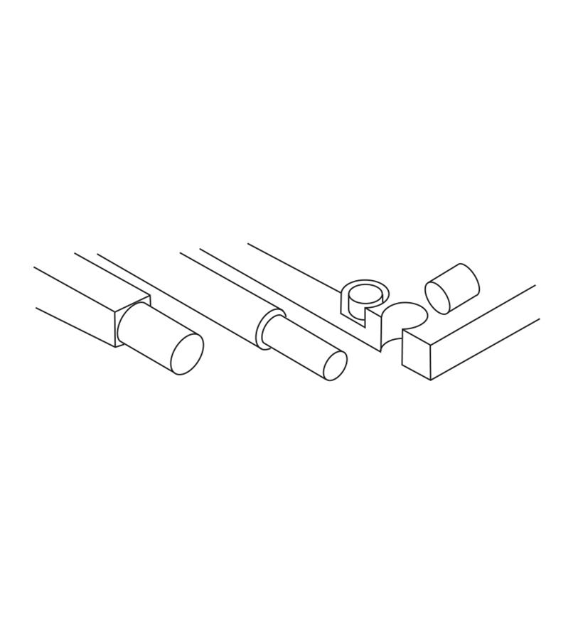Carbide-Tipped Dowel, Plug & Tenon Cutters