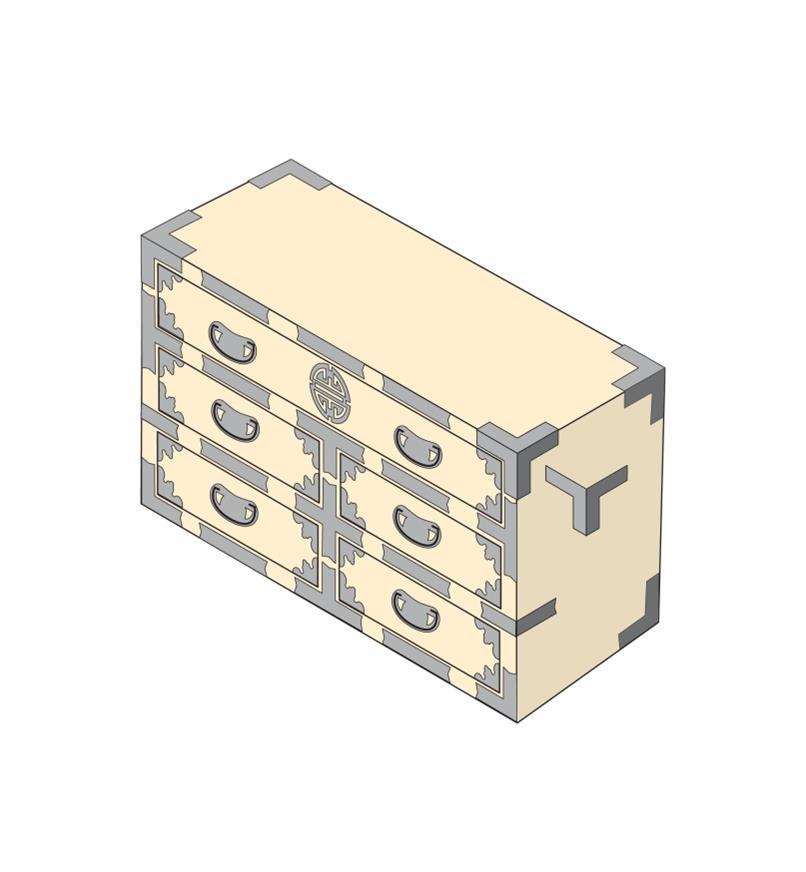Tansu Strap Hardware