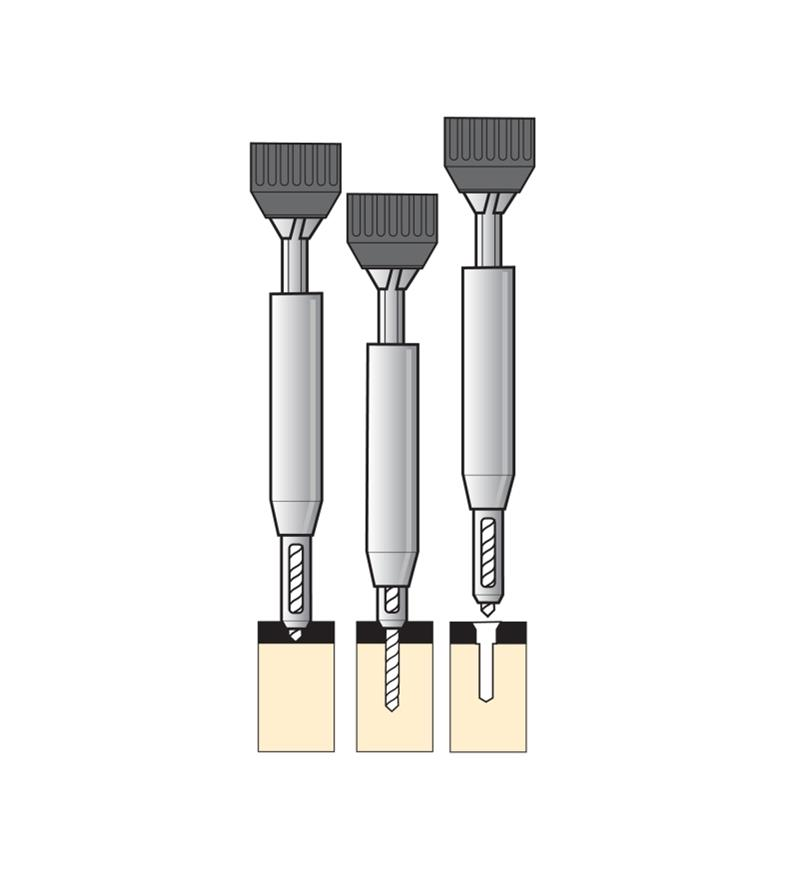 Vix-Bit Self-Centering Drill Bits