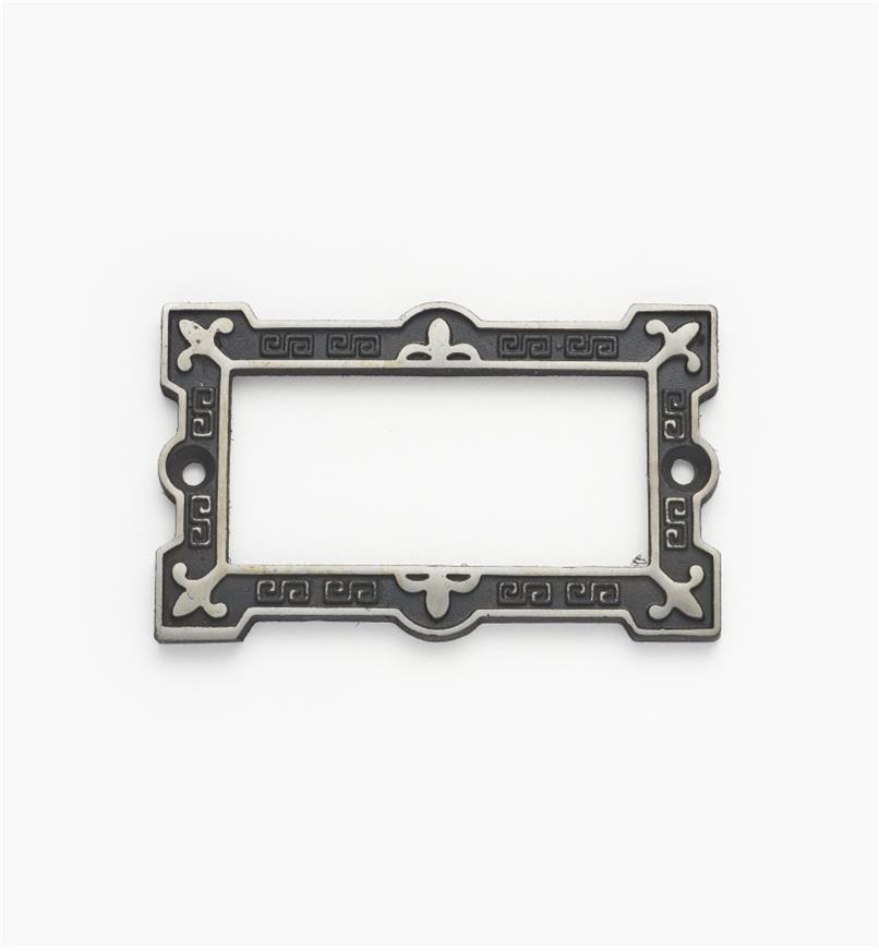 01K2801 - Porte-étiquette en acier coulé