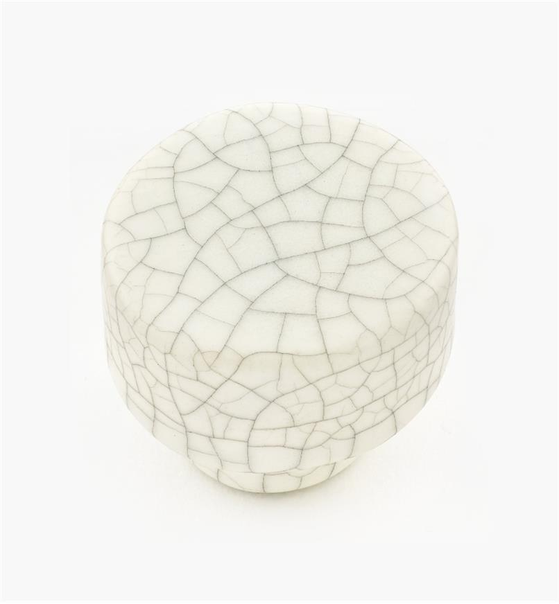 01W0551 - Crackle Hardware - Round Knob