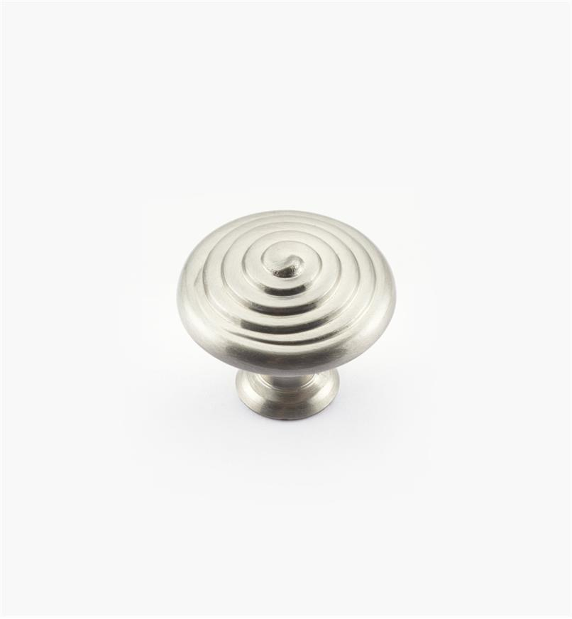 02A1901 - Satin Chrome Spiral Knob