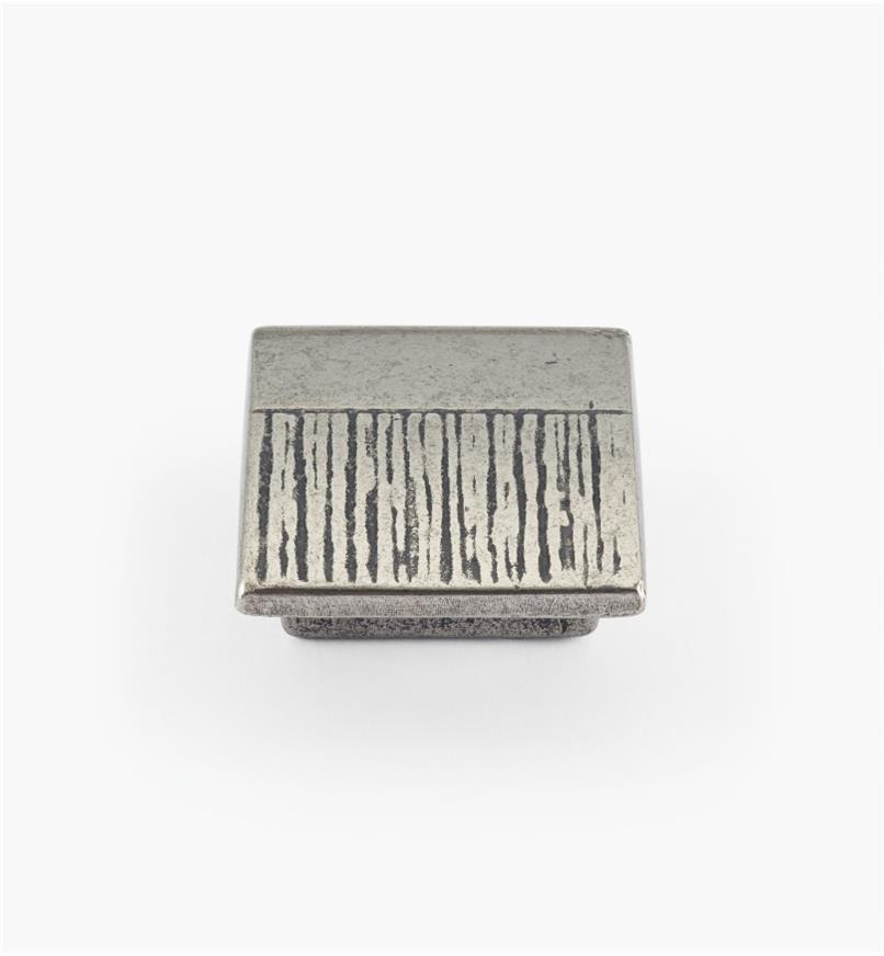 01G1831 - Matrix Hardware - 16mm x 30mm Antique Silver Knob