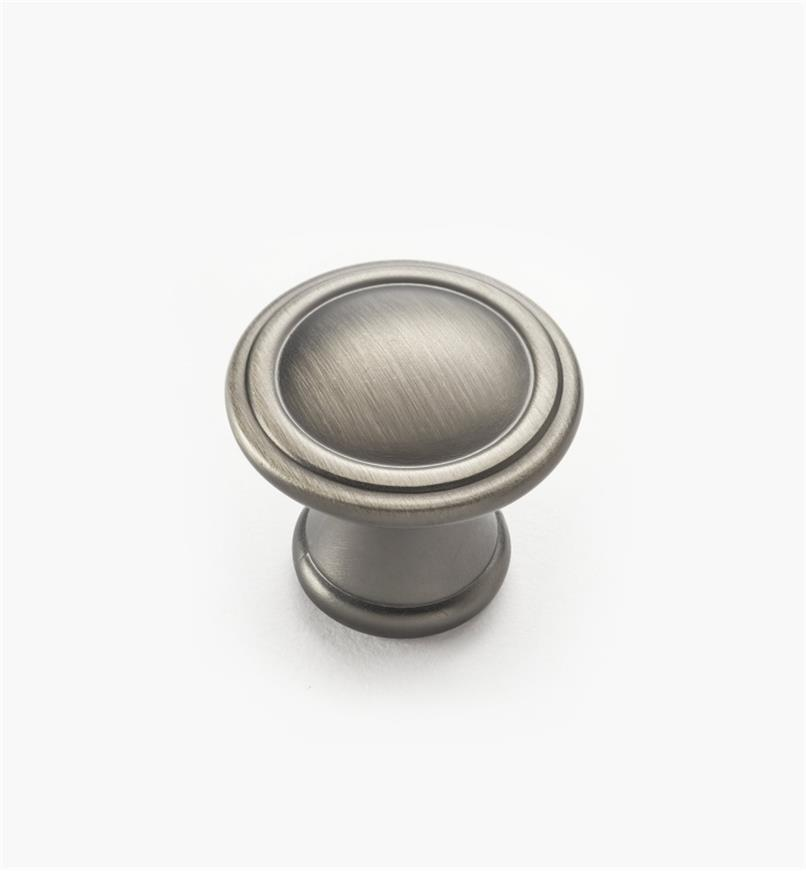 02W4135 - Brushed Antique Pewter Knob