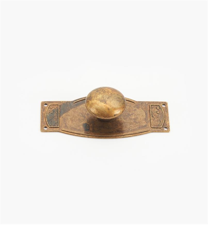 00A7805 - Plateau Art Deco Suite - 25mm x 80mm Knob