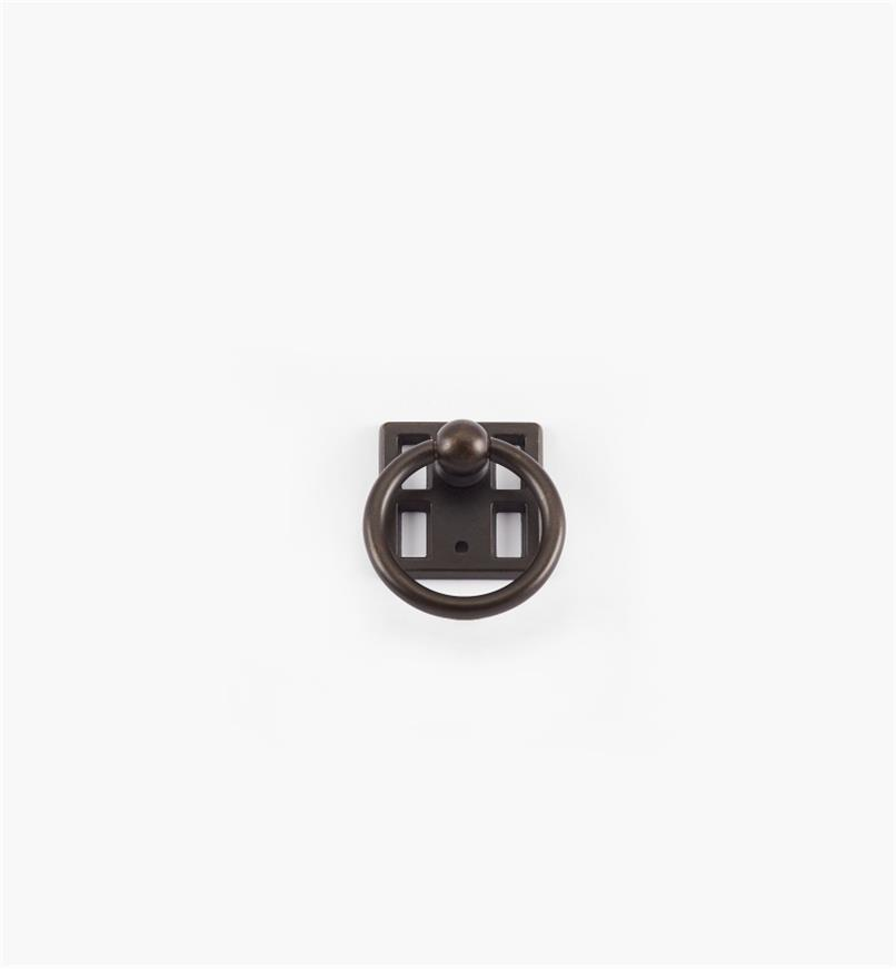 "01A2844 - 1 1/8"" Dark Bronze Ring Pull"
