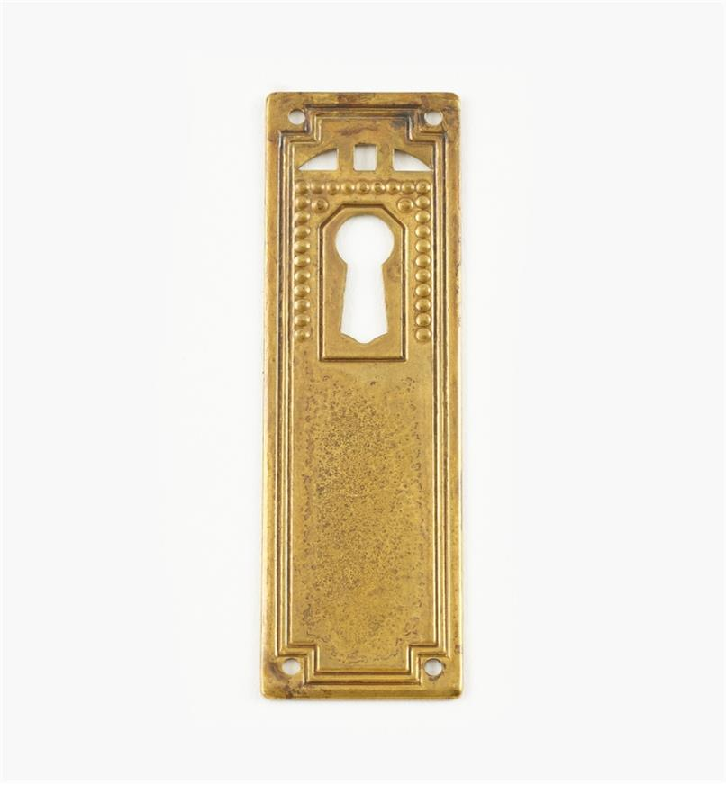 01A5240 - Vert. Plate Escutcheon