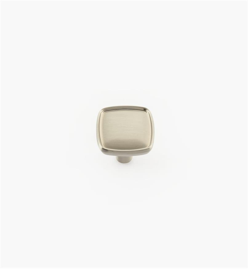 02A4333 - Porter Satin Chrome Square Knob