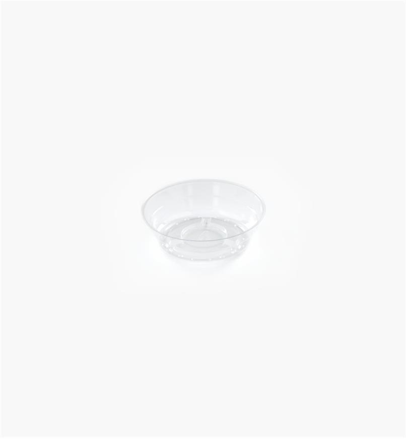 EA820 - Clear Classic Plant Saucer, 4""