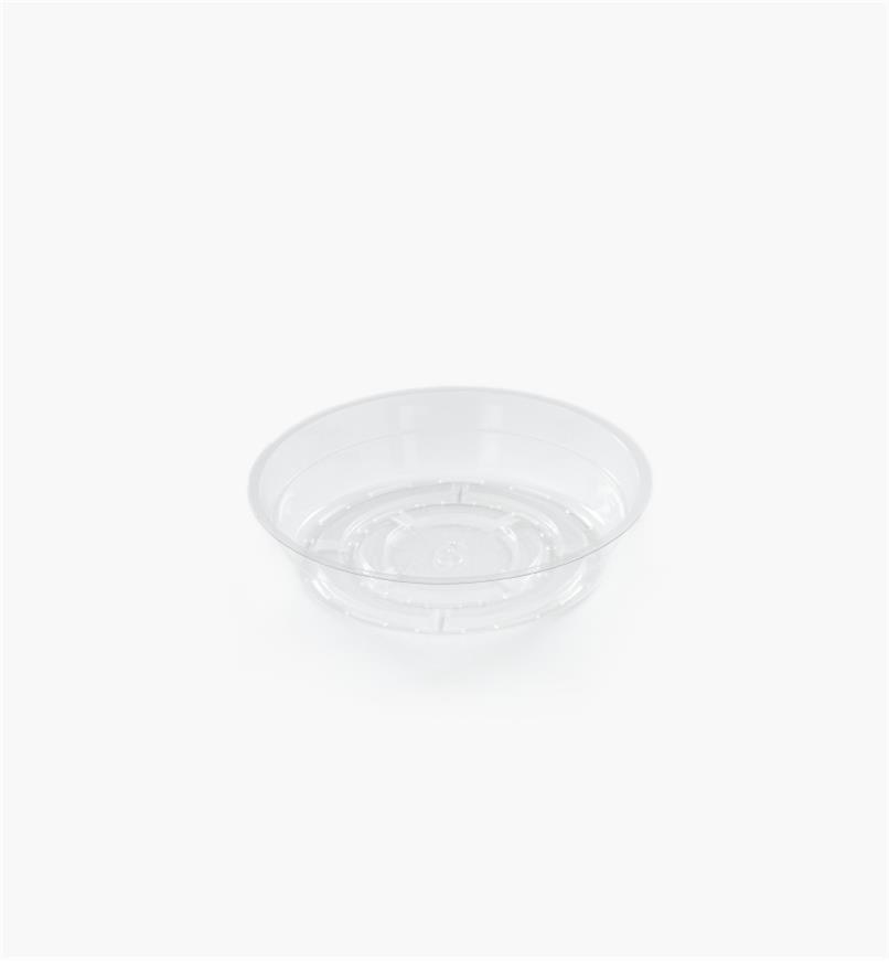 EA821 - Clear Classic Plant Saucer, 6""