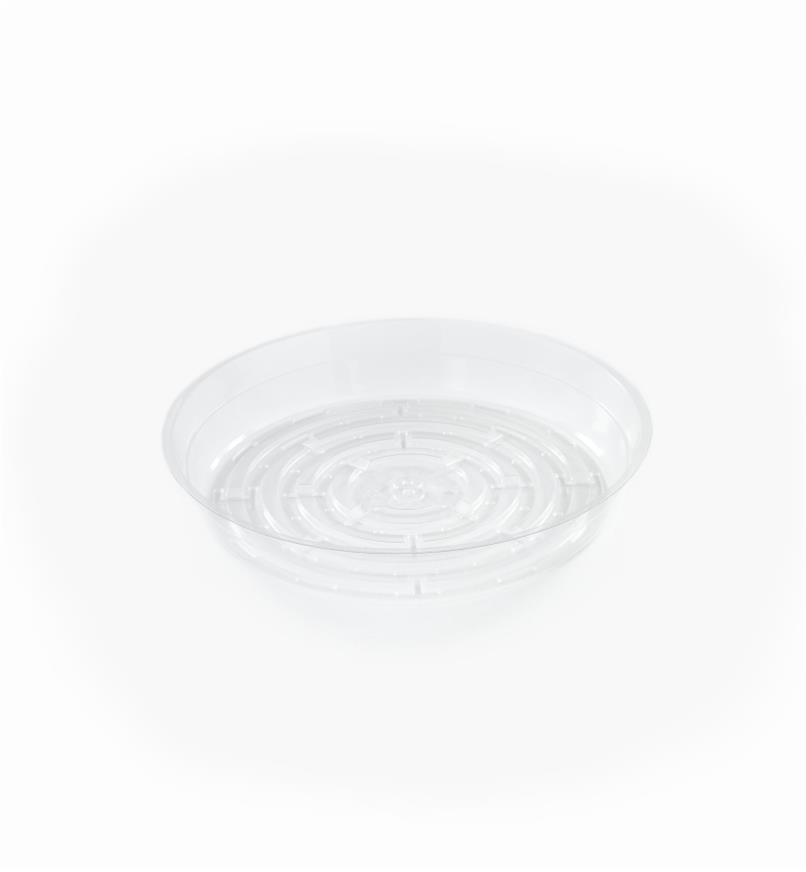 EA822 - Clear Classic Plant Saucer, 8""