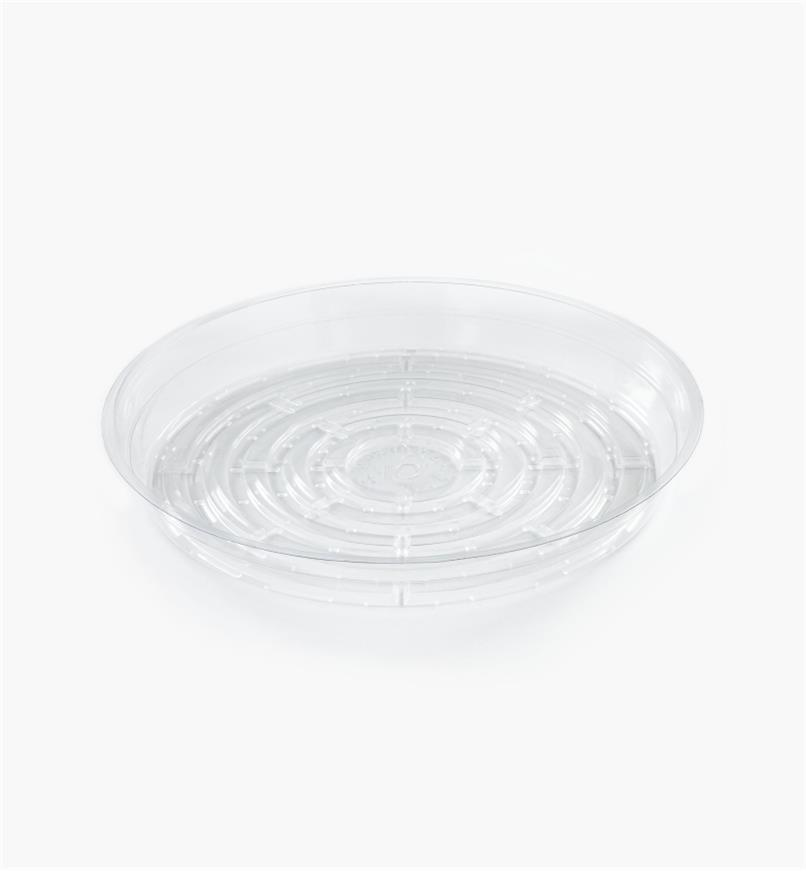 EA823 - Clear Classic Plant Saucer, 10""