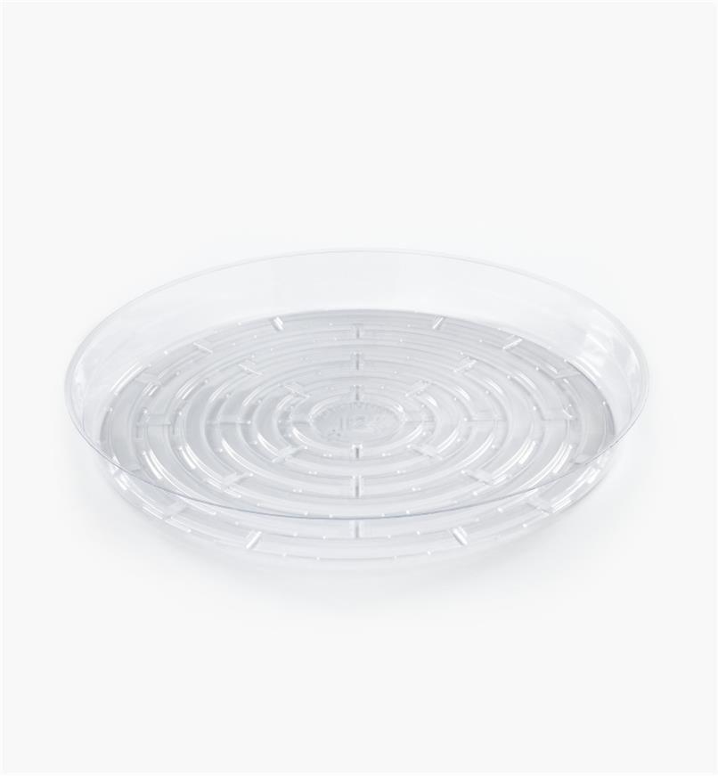 EA824 - Clear Classic Plant Saucer, 12""