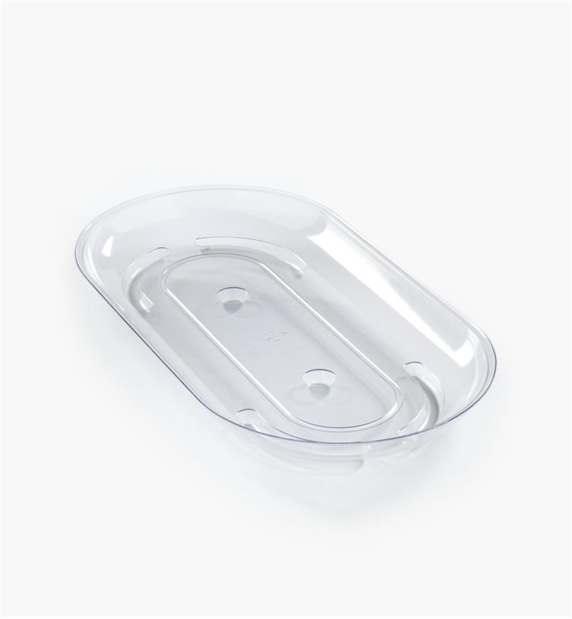EA840 - Sous-pot long transparent, 12 po