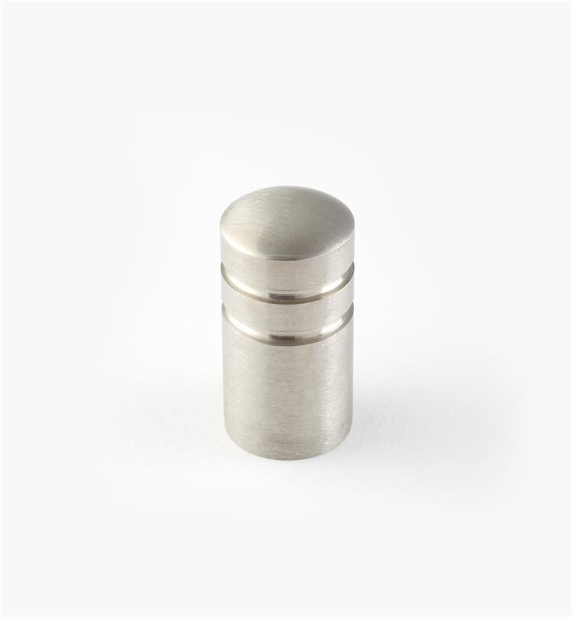 01W6950 - 15mm x 30mm Stainless Steel Ribbed Knob