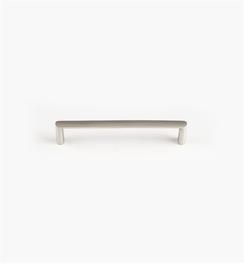 01W8121 - Poignée à prise ovale coulée au sable en acier inoxydable, 128mm