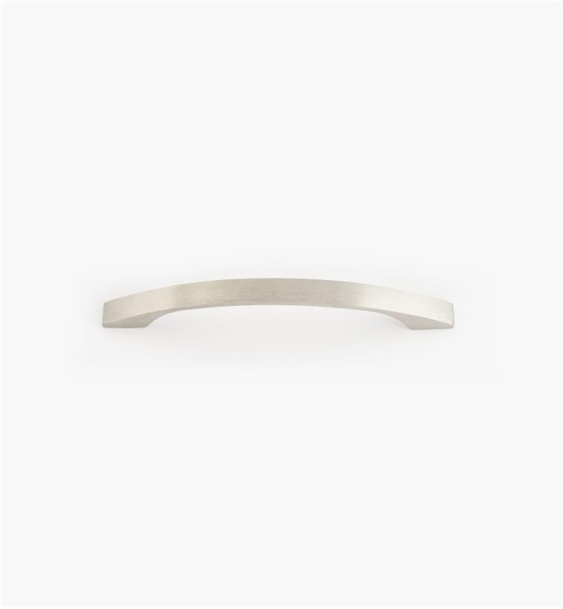 01W8131 - Poignée arquée à prise fine en acier inoxydable, 96 mm (9 mm)