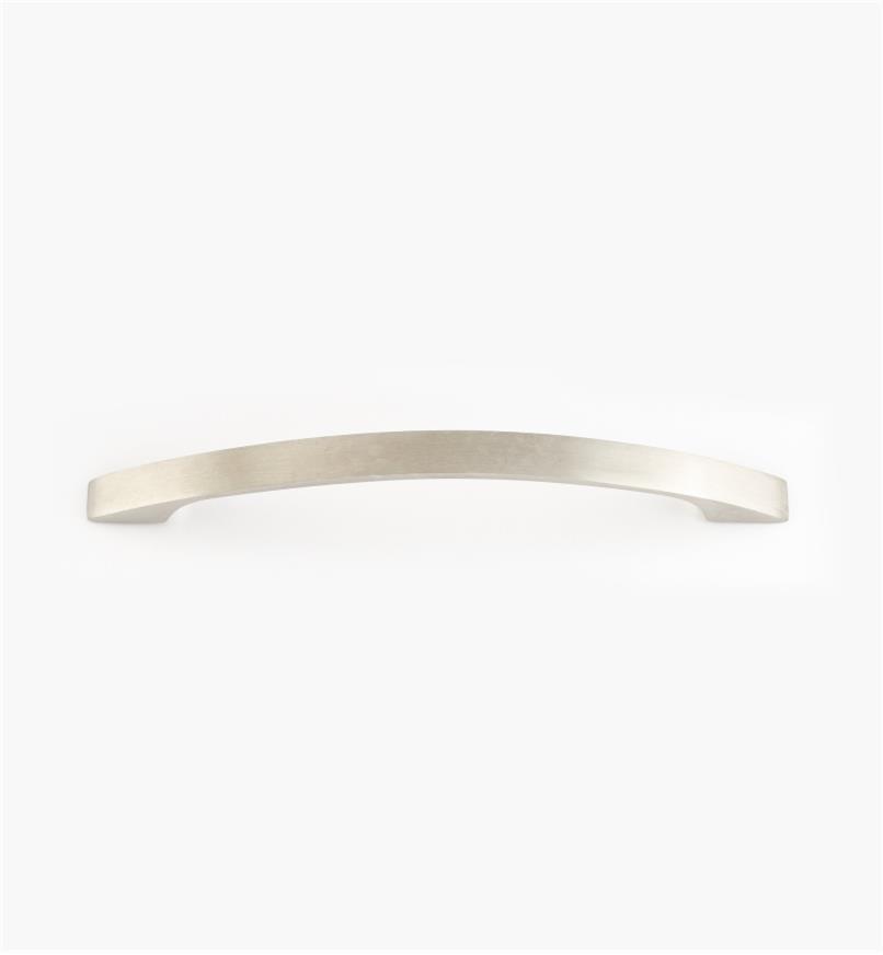 01W8132 - Poignée arquée à prise fine en acier inoxydable, 128 mm (10 mm)