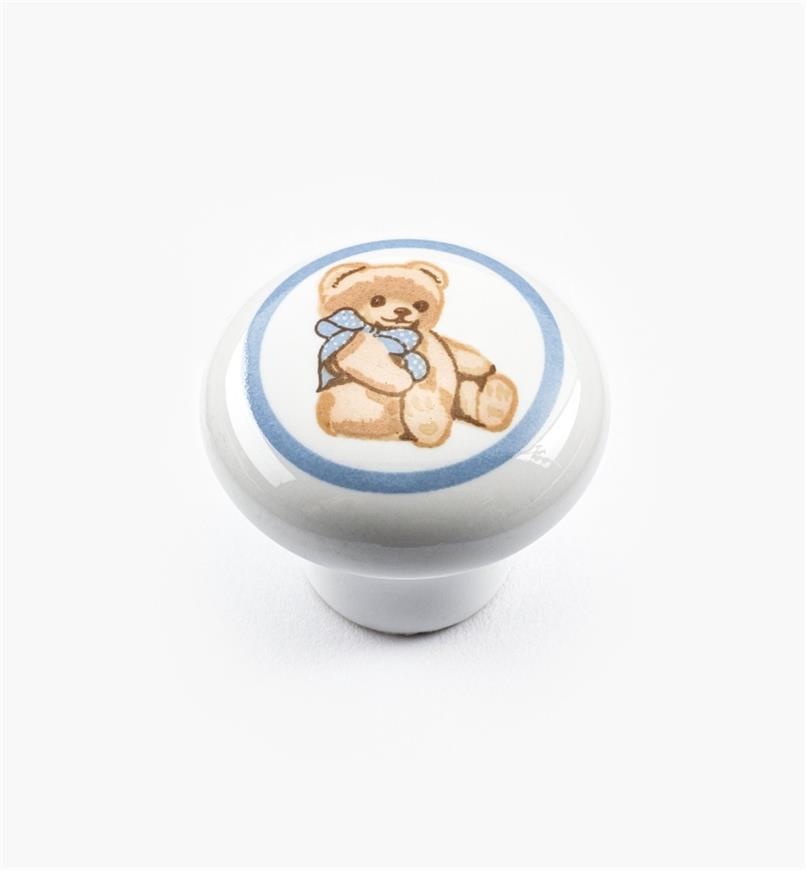 00W5290 - Bouton Bébé ours, 1 po x 7/8 po