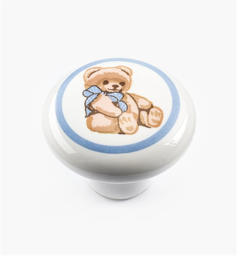 "00W5291 - 1 1/4"" x 1"" Teddy Bear Knob"