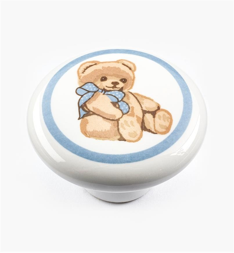 "00W5292 - 1 1/2"" x 1"" Teddy Bear Knob"