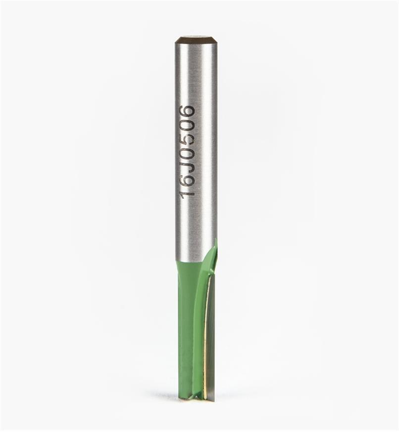 """16J0506 - 6mm x 3/4"""" x 1/4"""" Straight Cutter Bit"""