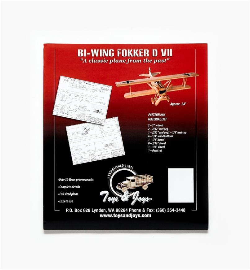 26L1011 - Bi-Wing Airplane Plan