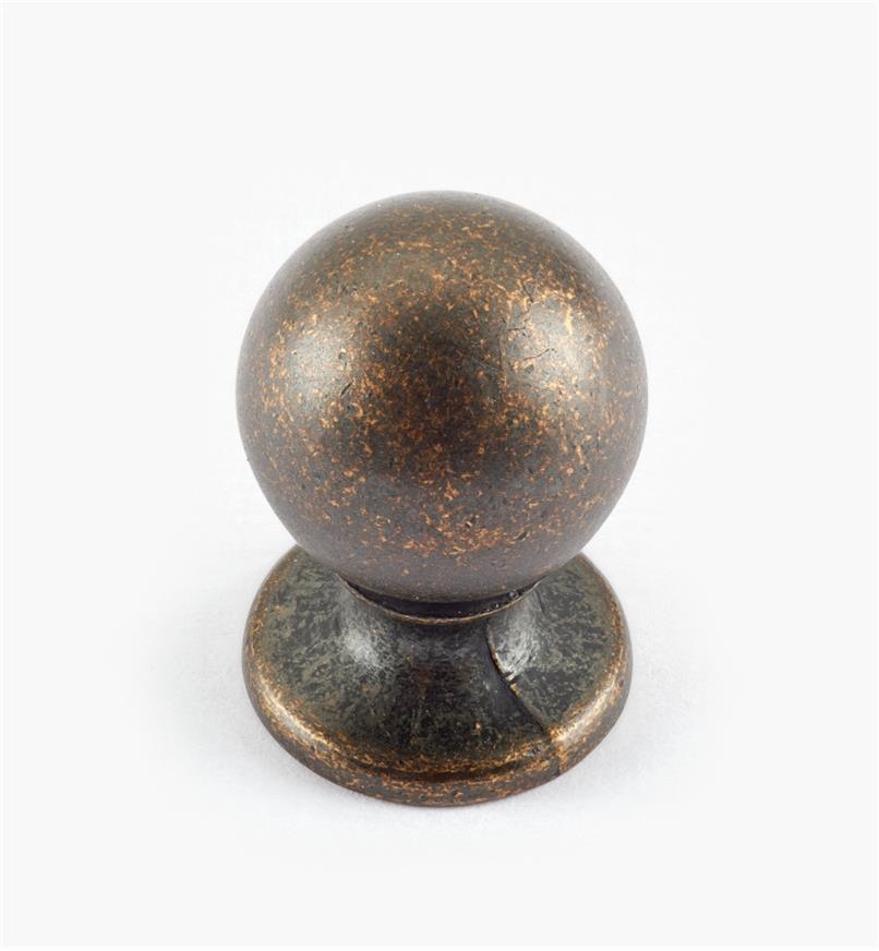 """02W3021 - 3/4"""" x 1 1/8"""" Ball Knob"""