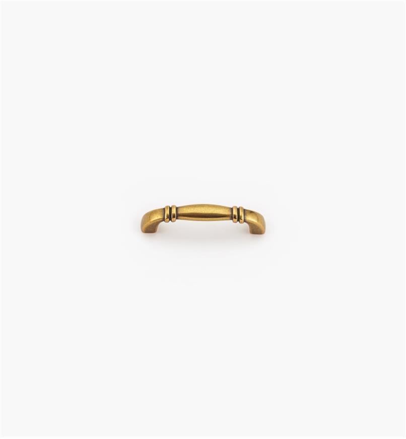 00A7165 - Poignée de 64mm, fini bronze bruni