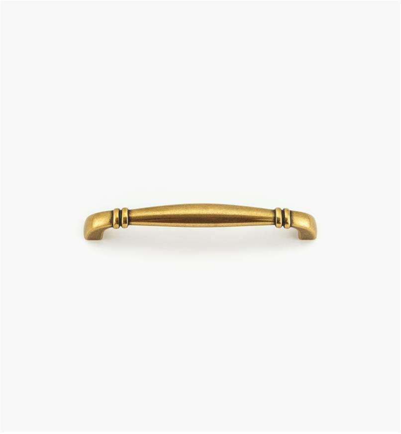 00A7167 - Poignée de 128mm, fini bronze bruni
